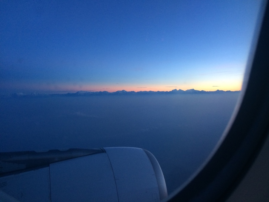Nepal Ankunft