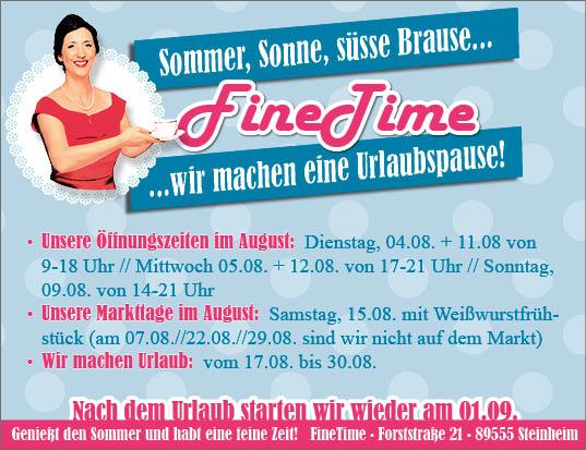 Anzeige FineTime 91x70_KW32